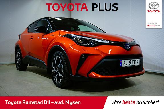 Toyota C-HR 2,0i Hybrid Orange  2020, 1000 km, kr 405000,-