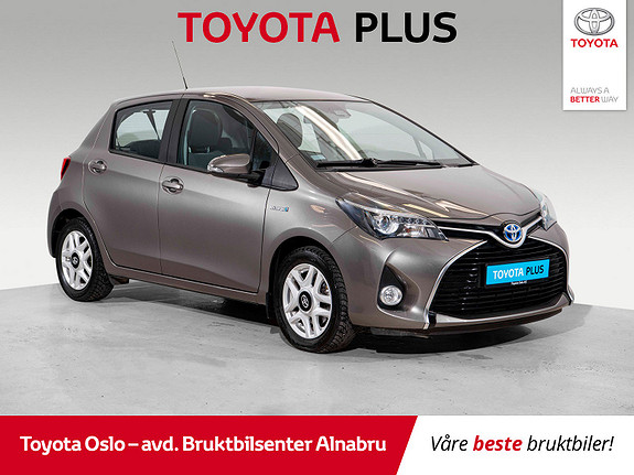 Toyota Yaris 1,5 Hybrid Active S e-CVT Bruktbilkampanje!  2016, 14865 km, kr 174900,-