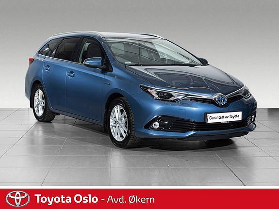 Toyota Auris Touring Sports 1,8 Hybrid Style Edition GLASSTAK  2016, 43258 km, kr 199900,-