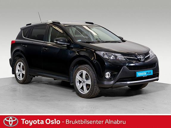 Toyota RAV4 2,0 4WD Executive CVT Toppmodell, hengerfeste  2014, 78900 km, kr 289900,-