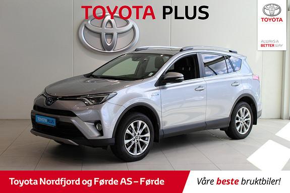Toyota RAV4 Hybrid 4WD Executive 197HK, Hengarfeste  2017, 59491 km, kr 409000,-