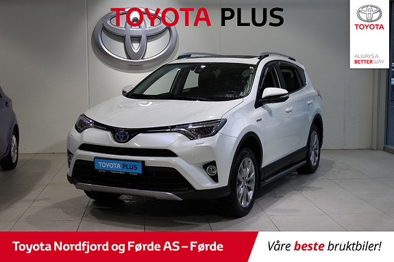 Toyota RAV4 Hybrid 4WD Executive  2016, 47260 km, kr 385000,-