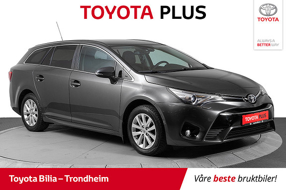 Toyota Avensis 1,8 Automat Active  2017, 49 572 km, kr 239 000,-