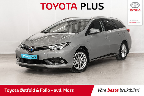 Toyota Auris Touring Sports 1,8 Hybrid Sport Vision / BT / NAVI / MM  2018, 33 800 km, kr 238 000,-