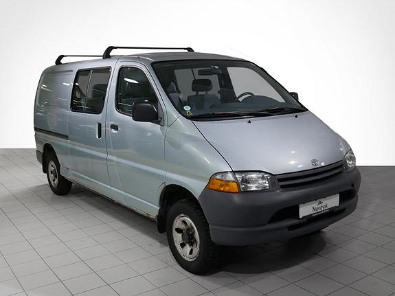 Toyota HiAce D-Turbo 4wd lang 5 seter  1998, 275890 km, kr 49000,-
