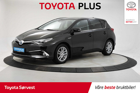 Toyota Auris 1,8 Hybrid E-CVT Executive Glasstak!  2016, 24 231 km, kr 199 000,-