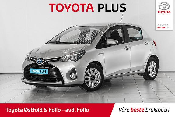 Toyota Yaris 1,5 Hybrid Active S e-CVT // PEN BIL // PARK.SENSORER//  2017, 59108 km, kr 159000,-