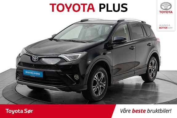 Toyota RAV4 Hybrid AWD Executive m/hengerfeste og skinnseter og JBL  2017, 59580 km, kr 389000,-