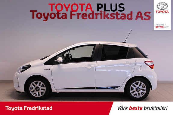 Toyota Yaris 1,5 Hybrid Active+ e-CVT aut  2018, 30840 km, kr 199000,-