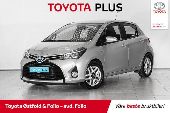 Toyota Yaris 1,5 Hybrid Active S e-CVT //FIN BIL // PARK.SENSORER//  2017, 42361 km, kr 164000,-