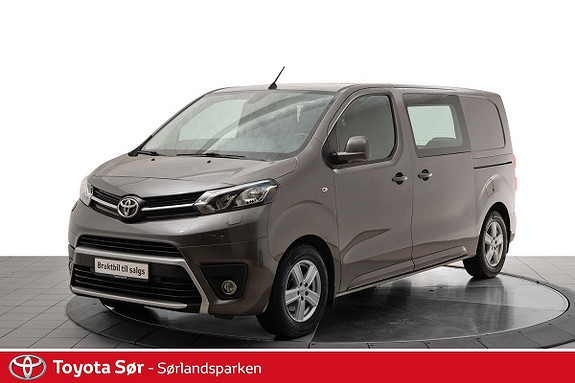 Toyota Proace 1,6 D 115 Comfort Medium L1H1  2016, 28200 km, kr 199000,-