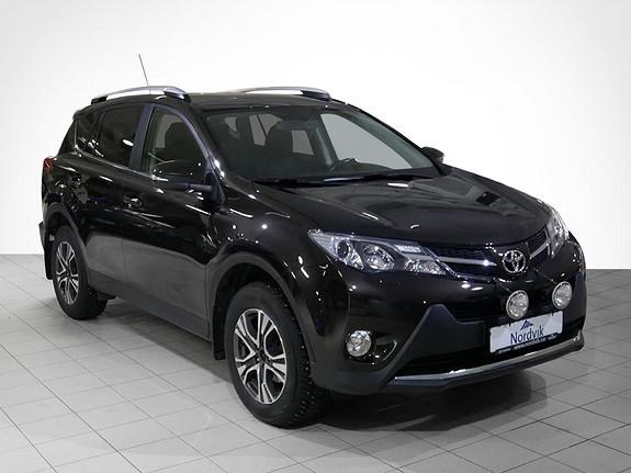 Toyota RAV4 2,0 4WD Multidrive S Active Ekstralys og hengerfeste.  2014, 116056 km, kr 269000,-