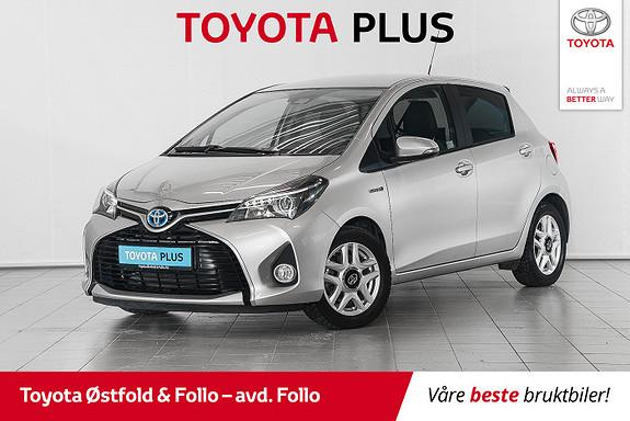 Toyota Yaris 1,5 Hybrid Style e-CVT // GLASSTAK //  2017, 18920 km, kr 189000,-