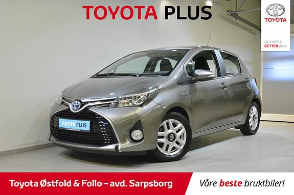 Toyota Yaris 1,5 Hybrid Active S e-CVT  2017, 37240 km, kr 168000,-