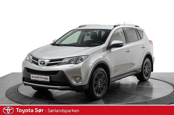 Toyota RAV4 2,0 D-4D 4WD Active m/fjernstyrt Webasto og hengerfeste  2014, 83500 km, kr 259000,-