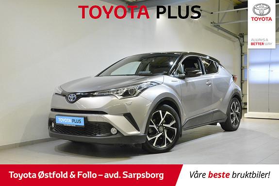 Toyota C-HR 1,8 WT-i Hybrid Dynamic , HENGERFESTE / NAVIGASJON,  2017, 43001 km, kr 278000,-