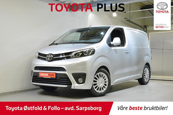 Toyota Proace 1,6 D 95 Comfort L0H1 , DELSKINN/XENON/CRUISE,  2018, 11161 km, kr 228000,-