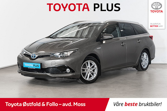 Toyota Auris Touring Sports 1,8 Hybrid Active Sport / PEN / DAB+  2017, 41800 km, kr 228000,-