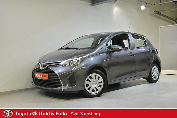 Toyota Yaris 1,0 Active  2015, 66150 km, kr 115000,-