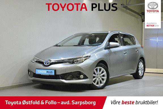 Toyota Auris 1,8 Hybrid E-CVT Active S  2016, 49747 km, kr 185000,-