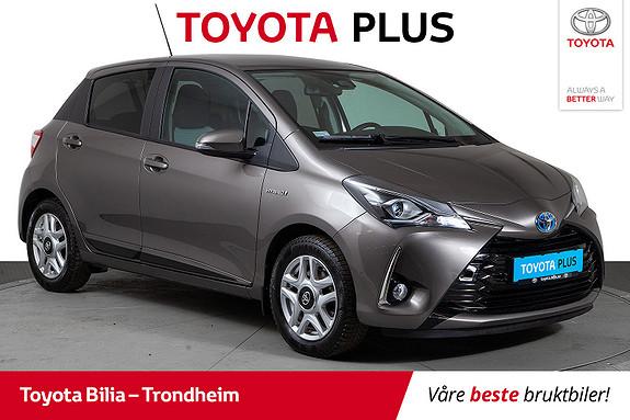 Toyota Yaris Hybrid Automat Active  2018, 38921 km, kr 179900,-