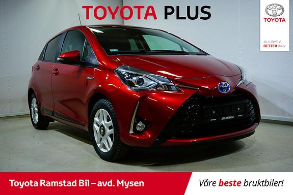 Toyota Yaris 1,5 Hybrid Active+ e-CVT aut  2018, 43600 km, kr 189000,-