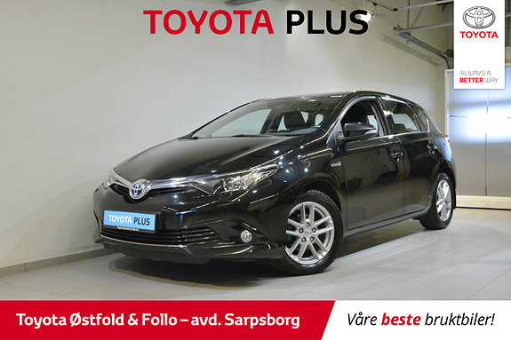 Toyota Auris 1,8 Hybrid E-CVT Active S  2016, 55120 km, kr 185000,-