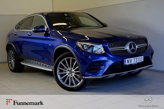 Mercedes-Benz GLC 350e 4MATIC aut STRØKEN // COUPE // SE INTERIØR  2018, 20800 km, kr 639000,-