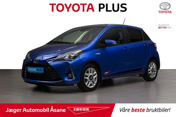 Toyota Yaris 1,5 Hybrid Active+ e-CVT aut  2018, 41900 km, kr 199000,-