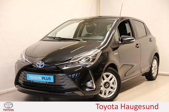Toyota Yaris 1,5 Hybrid Y20+ e-CVT aut  2019, 6253 km, kr 224000,-