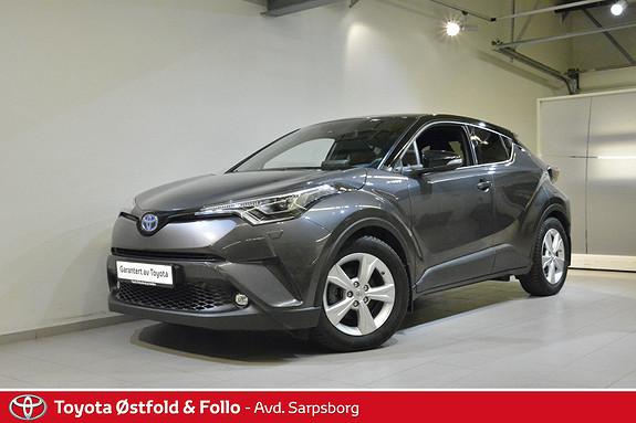 Toyota C-HR 1,8i Hybrid Lounge Tech , BI-LED / NAVI,  2018, 44785 km, kr 278000,-