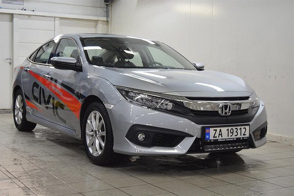 Honda Civic 1.5 TURBO Executive AT Navi  2018, 22000 km, kr 269000,-
