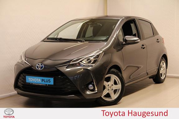 Toyota Yaris 1,5 Hybrid Active e-CVT aut  2018, 31060 km, kr 209000,-