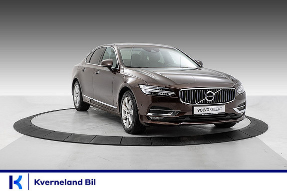 Volvo S90 D4 190hk Inscription aut H.feste, VOC, Plusspk, Rattvarmer  2018, 39320 km, kr 499000,-