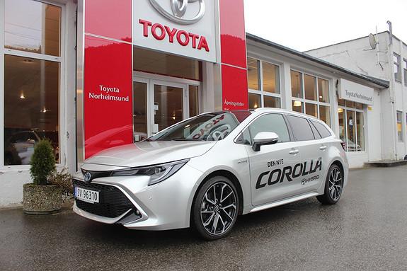 Toyota Corolla 2.0 Hybrid e-CVT Touring Sports Executive, TECTYL  2019, 7100 km, kr 409900,-