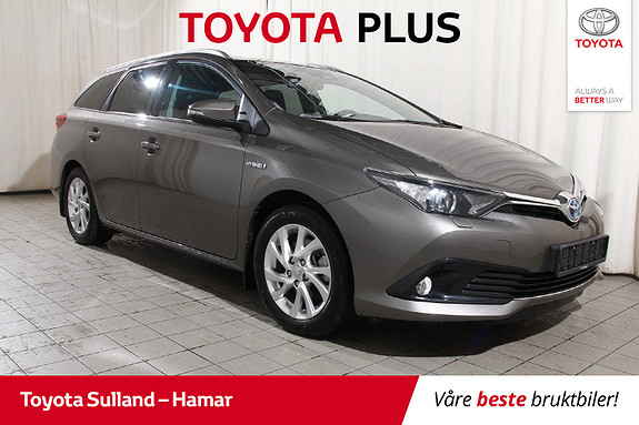 Toyota Auris Touring Sports 1,8 Hybrid Active Sport Ryggekam. - Navi  2018, 26476 km, kr 229900,-