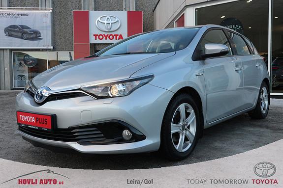 Toyota Auris 1,8 Hybrid E-CVT Active S LAV KM / Rett fra SERVICE  2016, 32500 km, kr 199900,-