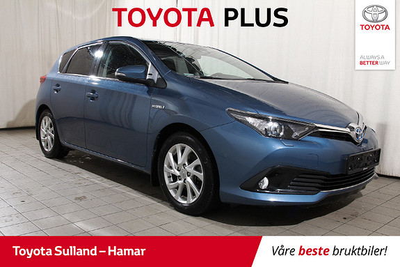Toyota Auris 1,8 Hybrid E-CVT Active Sport Ryggekamera - Navigasjon  2018, 46598 km, kr 223900,-