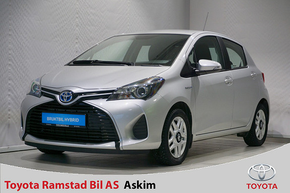 Toyota Yaris 1,5 Hybrid Active  2016, 67340 km, kr 139000,-