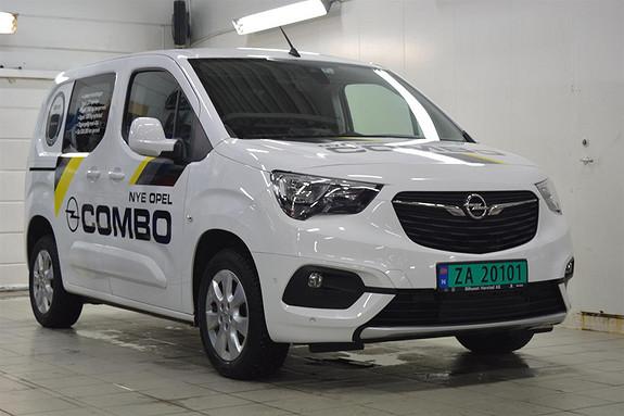 Opel Combo 1.5 DT MESTER PREMIUM  2019, 9500 km, kr 199000,-