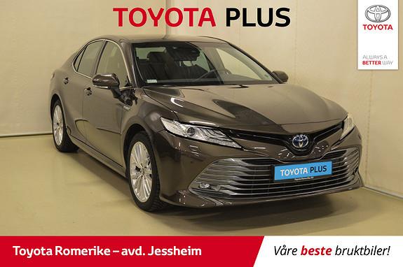 Toyota Camry Hybrid Premium 1 eier, Service utført, Lekker farge  2019, 16654 km, kr 435000,-