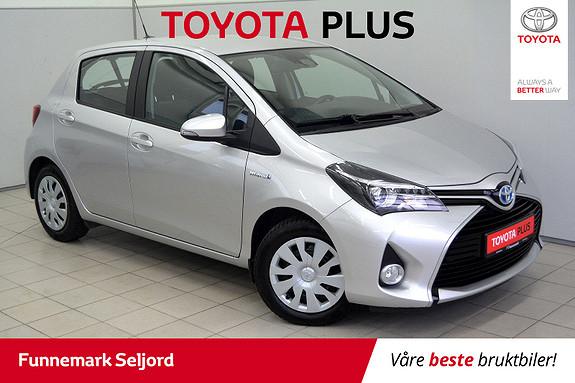 Toyota Yaris 1,5 Hybrid Active e-CVT Lav km- Lettkjørt- 100HK-1 eier  2016, 19000 km, kr 159000,-