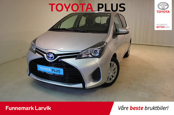 Toyota Yaris 1,5 Hybrid Active e-CVT  2015, 53000 km, kr 150000,-