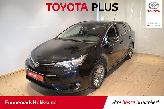 Toyota Avensis Touring Sports 1,8 Active Style M-drive 7S  2016, 58 700 km, kr 228 000,-