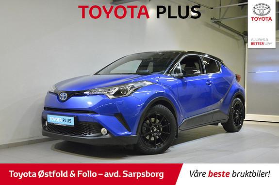 Toyota C-HR 1,8i Hybrid Dynamic , NAVIGASJON,  2018, 45720 km, kr 278000,-