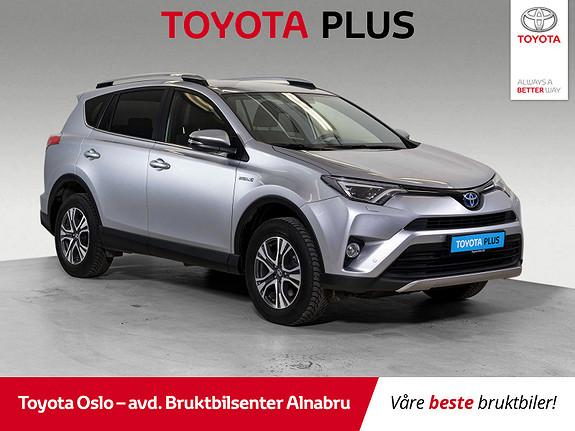 Toyota RAV4 Hybrid AWD 71n Edition Bruktbilkampanje!  2018, 46077 km, kr 399900,-