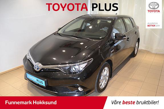 Toyota Auris 1,8 Hybrid E-CVT Active  2016, 37300 km, kr 198000,-