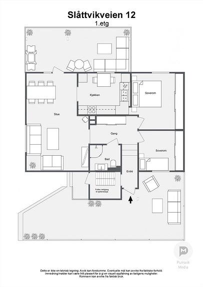 Slåttvikveien 12 - 1. etg - 2D