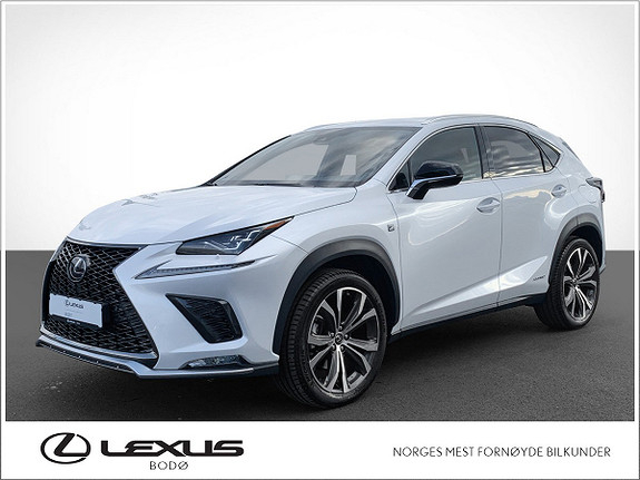Lexus NX 300h F Sport   Hybrid   Pakke   LavKM  2020, 3000 km, kr 659000,-