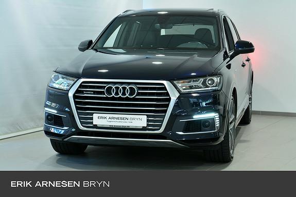 Audi Q7 e-tron quattro 373 hk 5-s Bose, Viritual c, Krok, Pano  2017, 60400 km, kr 689900,-